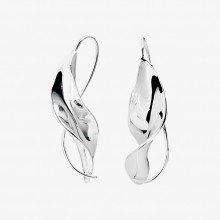 Wave small earrings