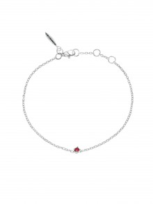 Birthstone Bracelet July Rubin